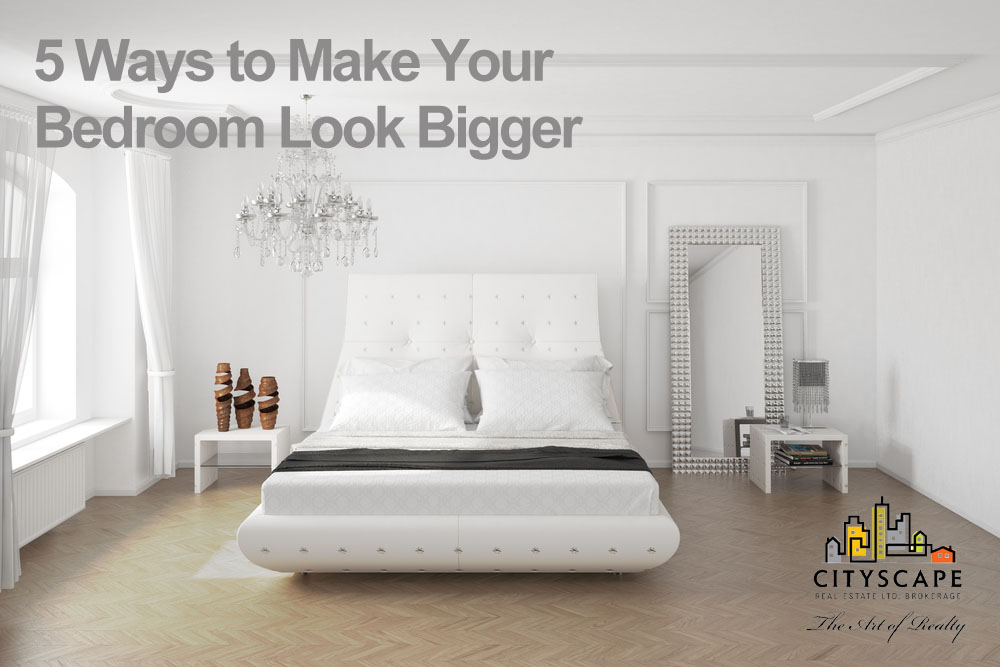 ways to make your bedroom look bigger maria ghafoori